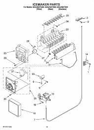 whirlpool ed5jhextq00 parts list and diagram ereplacementparts com