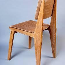 chaise prouv chic jean prouvé chaise standard chair tout bois jean prouv at