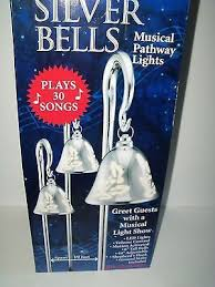 mr christmas light show new mr christmas 3 pk silver bells musical pathway lights 516268484
