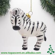 wholesale 2015 animated hanging hand blown glass animal ornaments