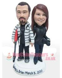 custom wedding cake toppers handmade wedding cake toppers