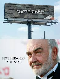 Sean Connery Memes - hot shingles you say imgur