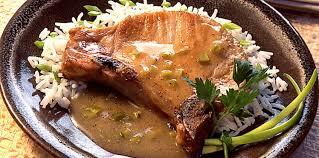cuisiner cote de porc côte de porc charcutière facile et pas cher recette sur cuisine