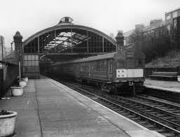 photos of the electric trains system that came before the tyne