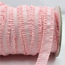 crochet elastic ribbon 1616228 16mm solid crochet flower fold elastic ribbon 1 yards