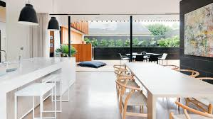 modern open plan kitchen dining room home design awesome
