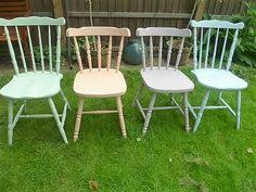 blue wheel back chair up cycled in annie sloan chalk paint