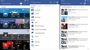 fb update fb pages manager for windows phone updated with new features and