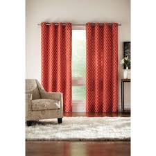 home decorators collection semi opaque chili ogee grommet curtain