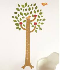 tree growth chart wall decal walldecals
