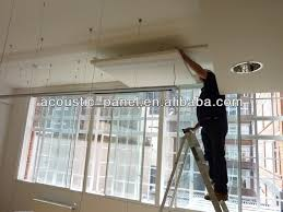 Noise Cancelling Ceiling Tiles by Fiberglass Soundproof Material Acoustical Ceiling Panel Styrofoam