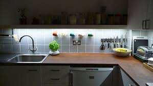 Kitchen LED Lights Install Ideas For Your Kitchen - Kitchen cabinet led downlights