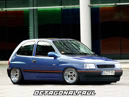 opel modified vauxhall corsa modified by octagonalpaul on deviantart