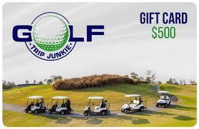vacation gift cards golf vacation gift cards golf trip junkie