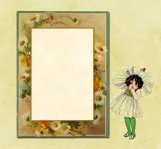 Invitation Card Border Daisy Flowers Border Card Free Stock Photo Public Domain Pictures