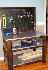 Build Woodworking Workbench Plans by Best 25 Kids Workbench Ideas On Pinterest Kids Work Bench Kids