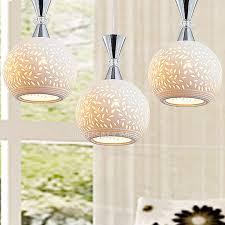 Ceramic Light Fixture White Pierced Ceramic Shade Multi Light Pendant