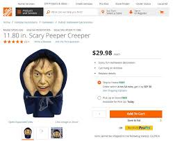 home depot halloween lights home depot removes peeping tom halloween decoration time com
