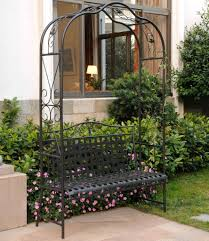 100 garden bench with trellis garden bench with trellis