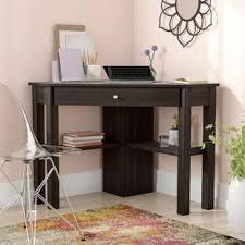 Corner Shelf Desk Corner Desks You Ll Wayfair