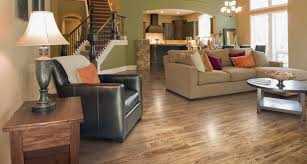 Living Room With Laminate Flooring Smoked Hickory Pergo Xp Laminate Flooring Pergo Flooring