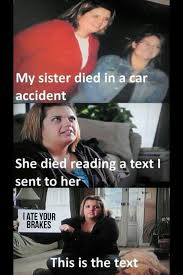 Texting And Driving Meme - i m going to hell for this adviceanimals