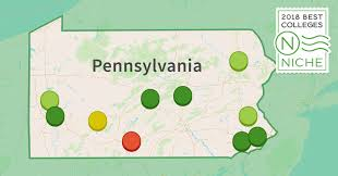 Penn State Campuses Map by 2018 Best Colleges In Pennsylvania Niche