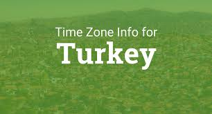 International Time Zone Map by Time Zone In Turkey