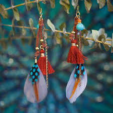 feather earrings feather earrings for embodying the higher realms and a boost in