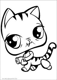 littlest pet shop printables coloring pages