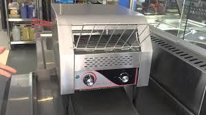 Commercial Conveyor Toaster Commercial Conveyor Toaster Youtube