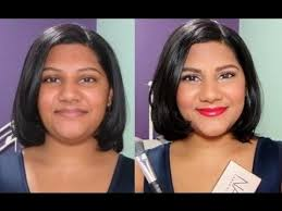 How To Make A Double Chin Look Less Noticable Eith Hair | how to contour how to hide a double chin with makeup plastic