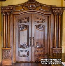 desain gapura ruang tamu kusen pintu utama desain gapura pusat mebel pintu khas ukir jepara