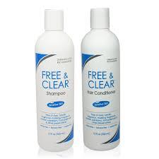 amazon com free u0026 clear set includes shampoo 12 oz and
