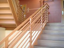 home interior railings wooden handrails for steps exceptional wood stair railing hardwood
