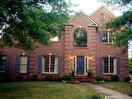 brick house exterior design house designs