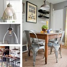 dining room cool industrial style dining room lighting home