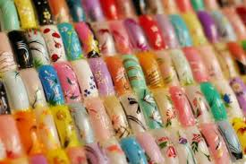 professional acrylic nail designs images