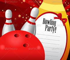 bowling invitation bowling party invitations free printable