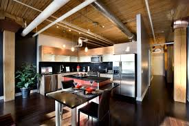 interior fantastic home design with loft style sizable space a