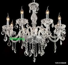 bohemian crystal chandelier round candle chandelier 8lights
