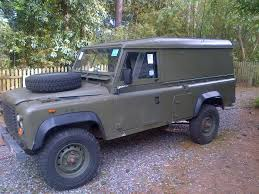 military land rover 110 1985 ex mod 110 land rover defender 110