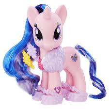 my pony ribbon my pony explore equestria 6 inch fashion style set royal