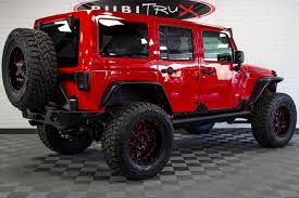 red jeeps 2017 jeep wrangler rubicon unlimited firecracker red