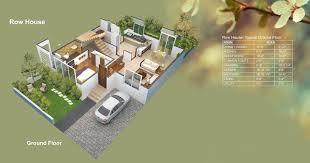 floor plans rowhouse ground floor