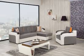divan deluxe golf gray sectional sofa by casamode