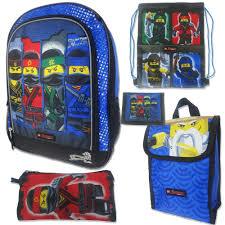 lego ninjago halloween costume the ninjago movie 5 pc backpack set