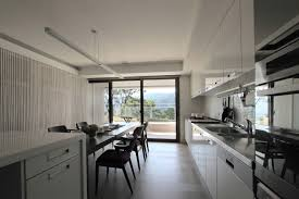Parallel Kitchen Ideas Decorating Ideas Adorable J House Office Interior Separated From