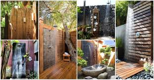 20 outdoor shower ideas that will up all of your senses