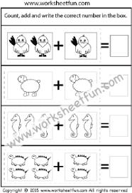 picture addition u2013 beginner addition u2013 4 kindergarten addition